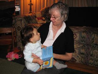 Grandma D and Kara ten months