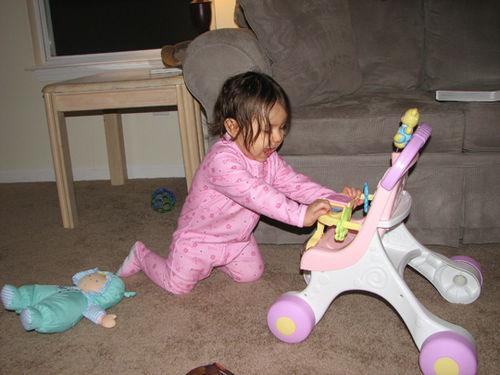 Kara babydoll stroller