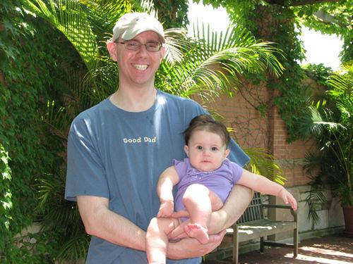 Daddy and Kara zoo