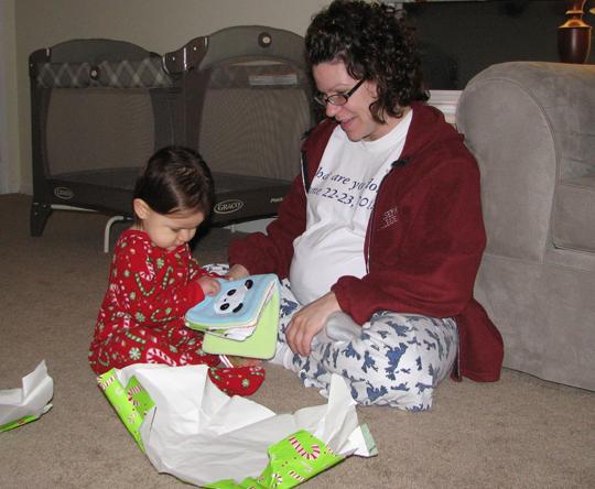 Momma and Kara Christmas 2008
