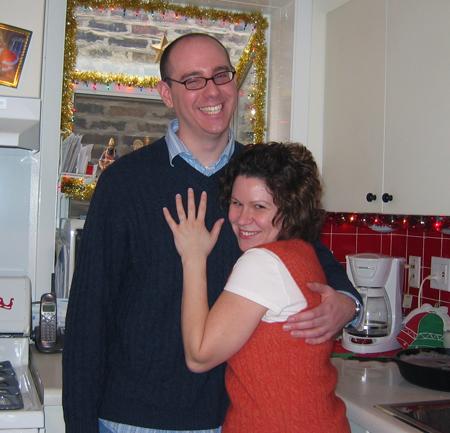 Frema and Luke Engagement 2005