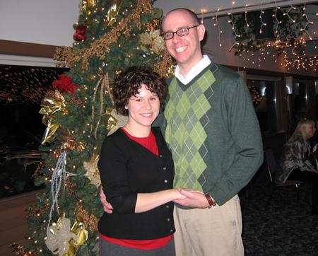 Frema and Luke Christmas 2006