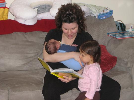 Momma Kara Nathan reading