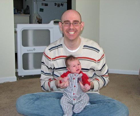 Luke and Nathan 3 weeks