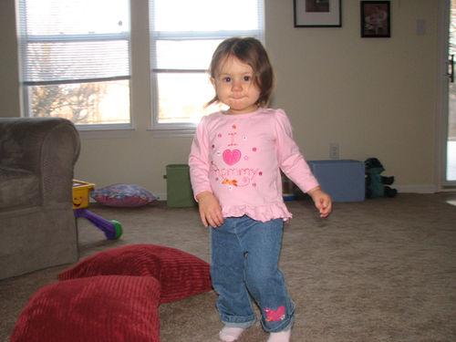 Kara 14 months old