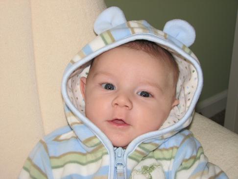 Nathan bear ears hoodie