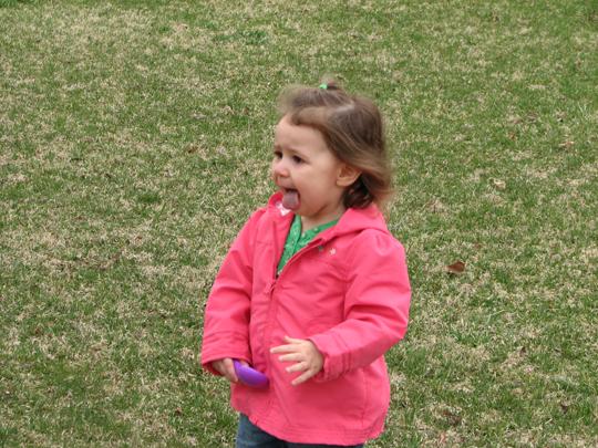 Kara Merrilleville outside