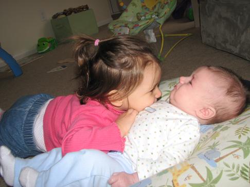 Kara Nathan hug 1