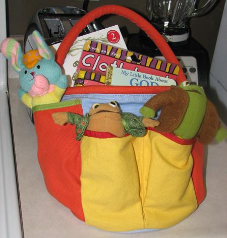 Easter basket 2009