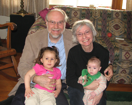 Grandparents with Kara and Nathan
