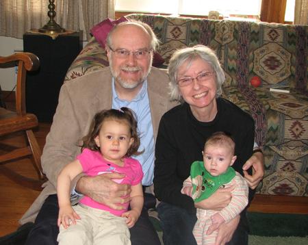 Grandparents with Kara and Nathan
