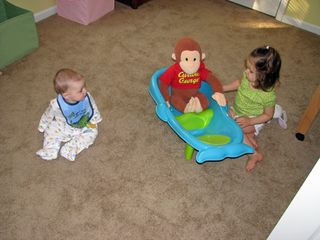 Kara Nathan Curious George tub