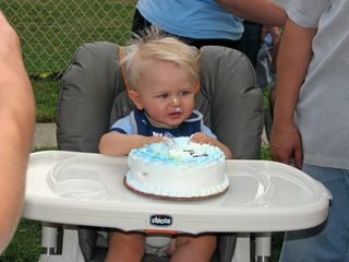 Danny's first birthday
