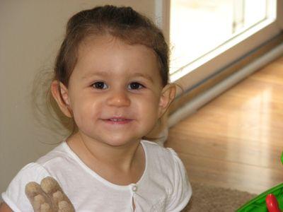 Kara 20 months smile