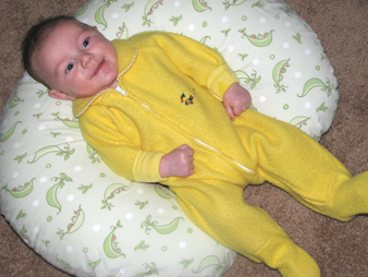Nathan Daddy's yellow sleeper
