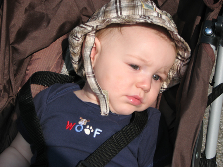 Nathan woof close-up