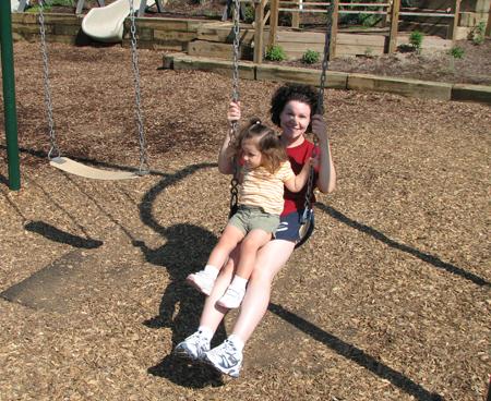 Momma Kara swings