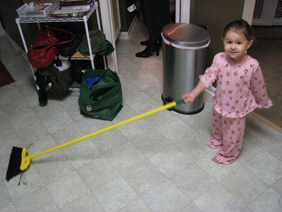 Kara 22 months broom