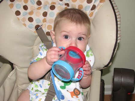 Nathan 7 months cup
