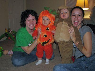 Nathan 9 months pumpkin