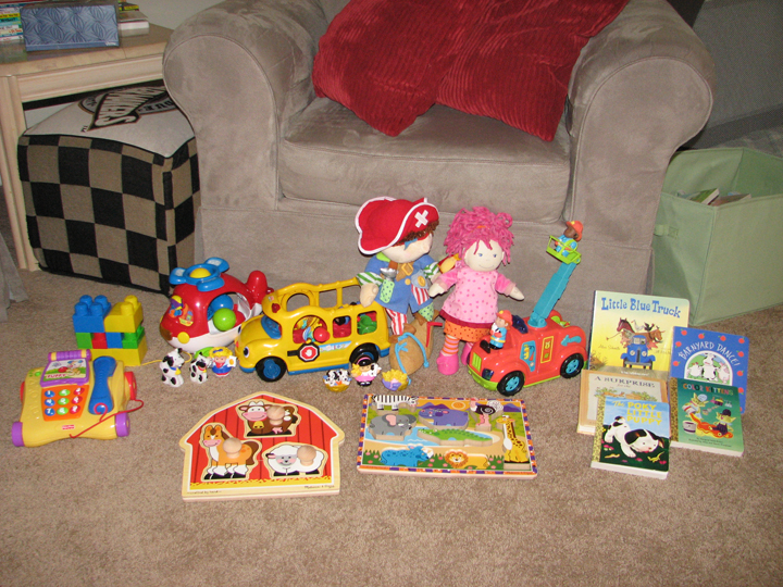 Christmas 09 Kids loot