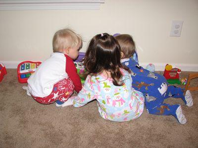 Nathan 11 months Kara Danny