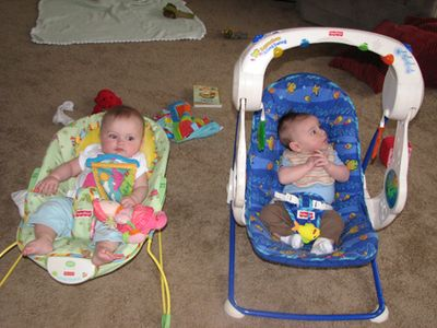 Marin and Nathan - month 3