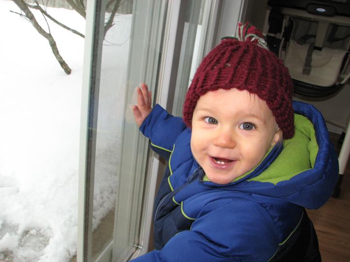 Nathan 12 months snowsuit