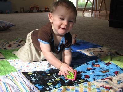 Nathan 9 months quilt