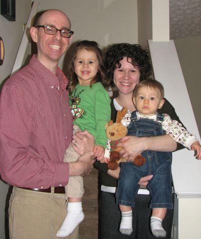 Kara 2 years family shot