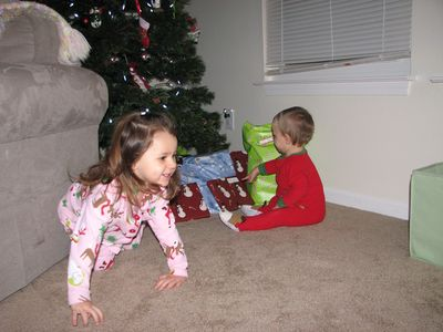 Christmas 09-4 Kara and Nathan tree
