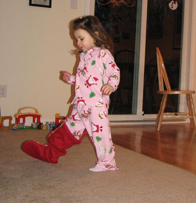 Christmas 09-5 Kara stocking
