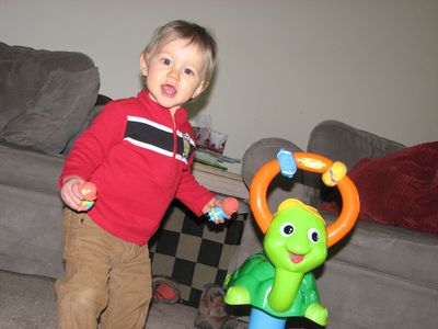 Nathan 11 months turtle