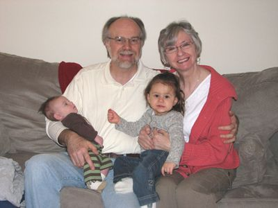 Grandparents D and kids - month 3