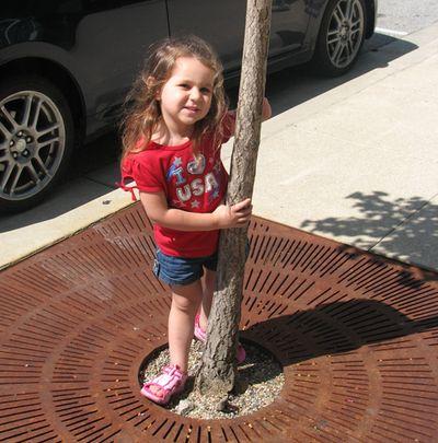 Kara 30 months tree branch