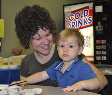 Momma Nathan Bring Your Family to Work Day August 2010