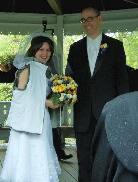 Bree and Luke wedding day