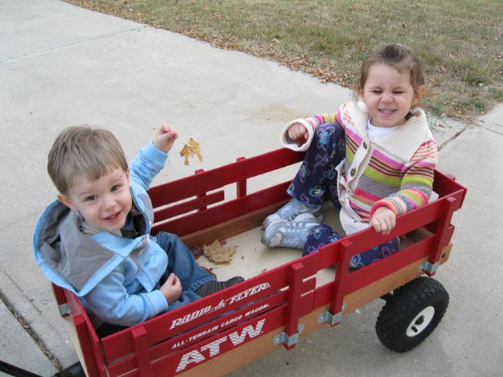 Kara Nathan wagon Oct 2010