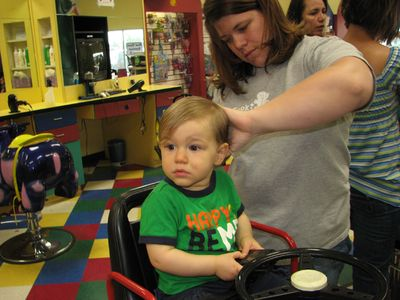 Nathan 15 months haircut 3