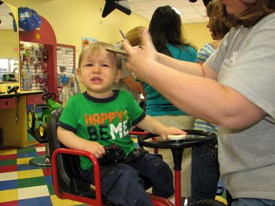 Nathan 15 months haircut 4