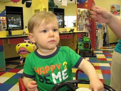 Nathan 15 months haircut 5
