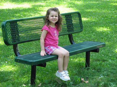 Kara 30 months park bench