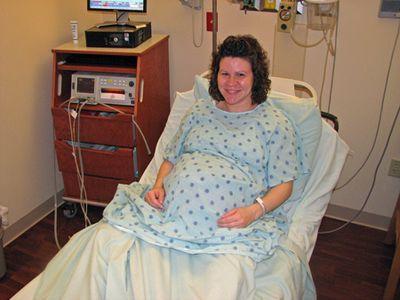 Momma hospital bed