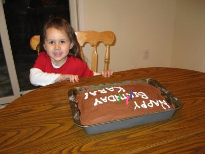 Kara b-day cake 2010