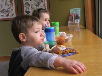 Nathan 2nd birthday - lunch