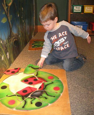Nathan 2nd birthday - ladybug puzzle