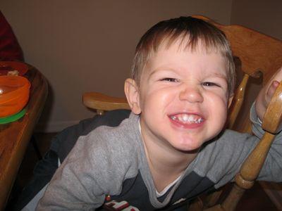 Nathan 2nd birthday - smile