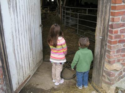 Kara and Nathan creamery barn April 2011