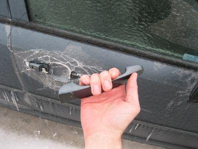 Door handle oopsie
