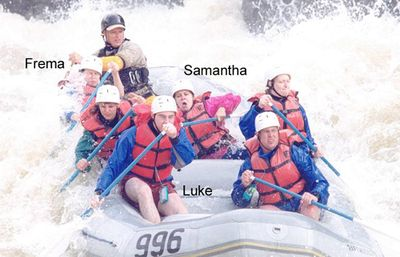 Rafting 2003